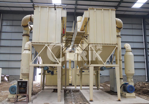 Diatomite vertical mill machine