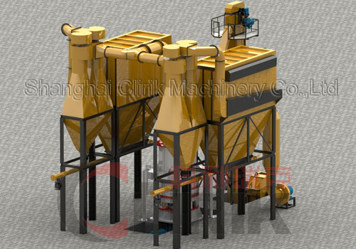 1.5-12T/H Newest Model Vertical Mill, Super fine vertical mill